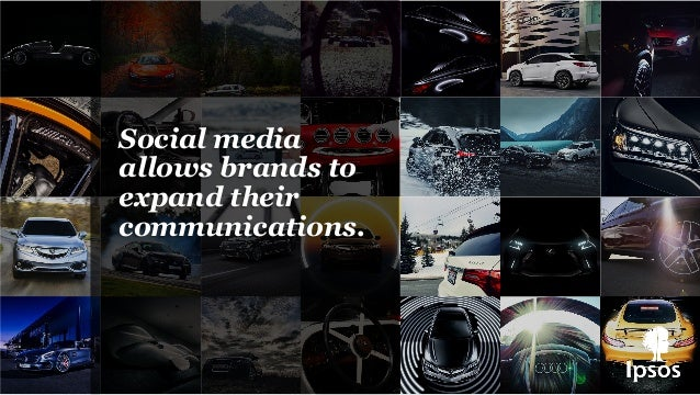 Social media allows brands to expand their communications.
