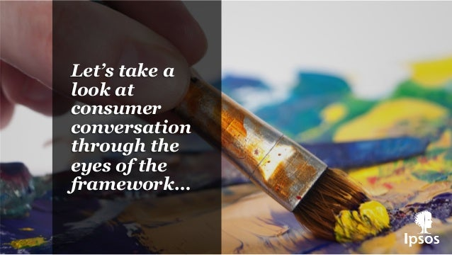 Let's take a look at consumer conversation through the eyes of the framework…