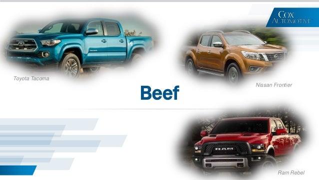 Beef Toyota Tacoma Ram Rebel Nissan Frontier