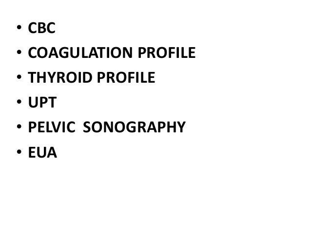 D.G.F. CME CASE STUDY DISCUSSION Abnormal Uterine Bleeding