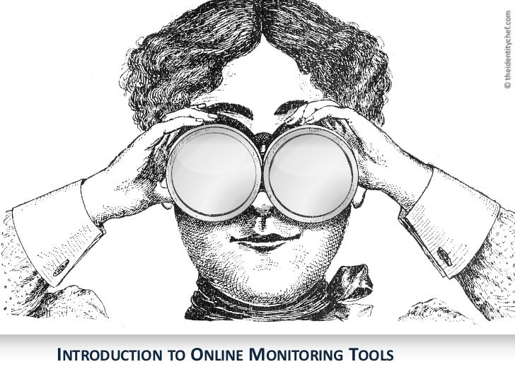 © theidentitychef.comINTRODUCTION TO ONLINE MONITORING TOOLS