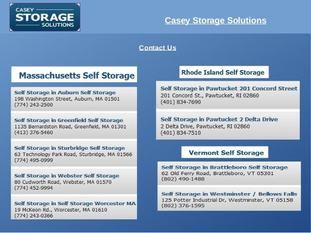 Casey Storage Solutions Contact Us ...