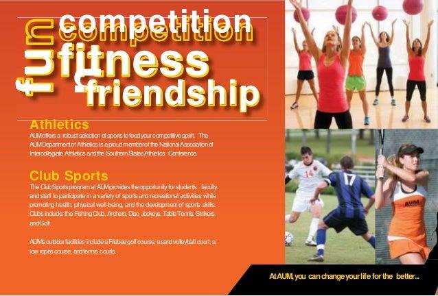 Athletics AUMoffersa robustselectionofsportstofeedyourcompetitivespirit. The AUMDepartmentofAthletics is aproudmemberofthe...