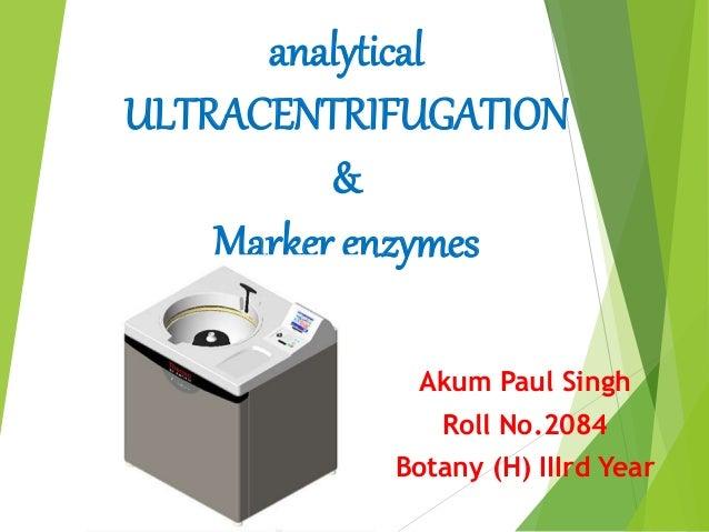 Analytical Ultracentrifugation