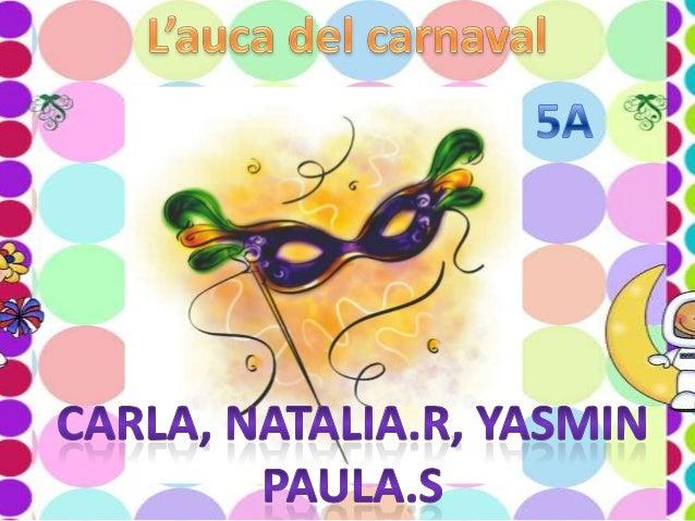 Auca carnaval junta