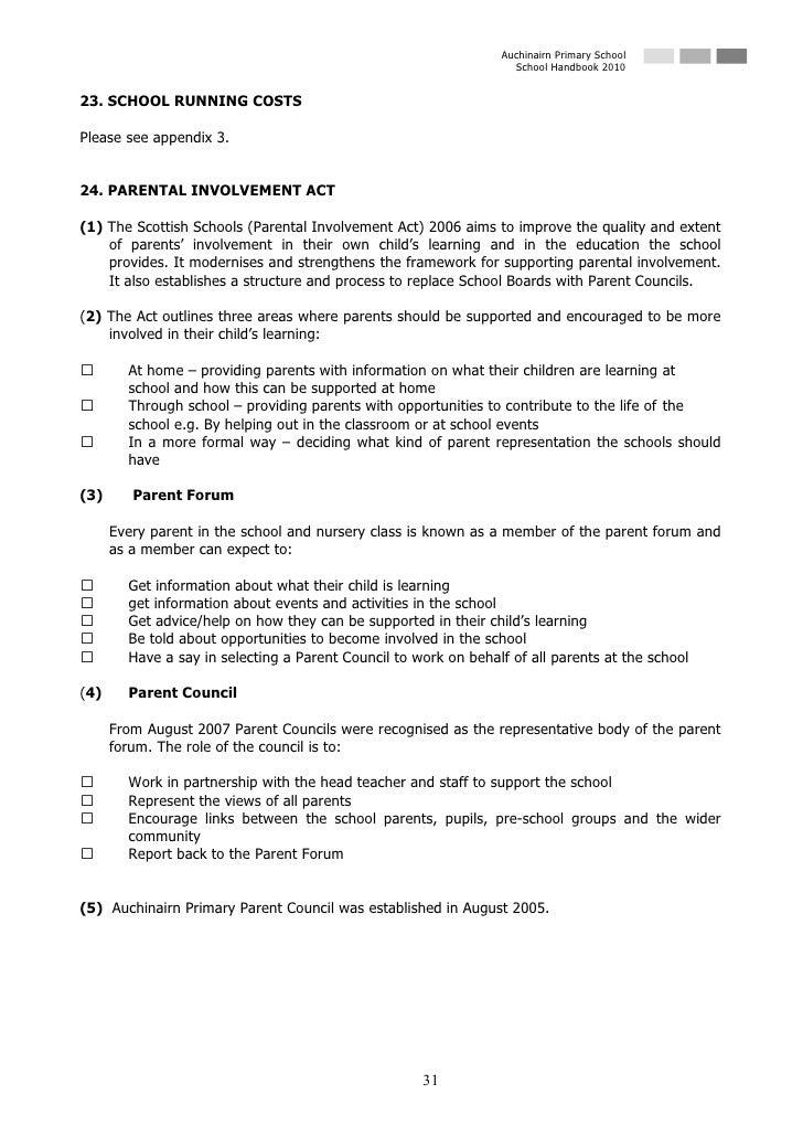Auchinairn Primary School                                                                    School Handbook 2010   23. SC...