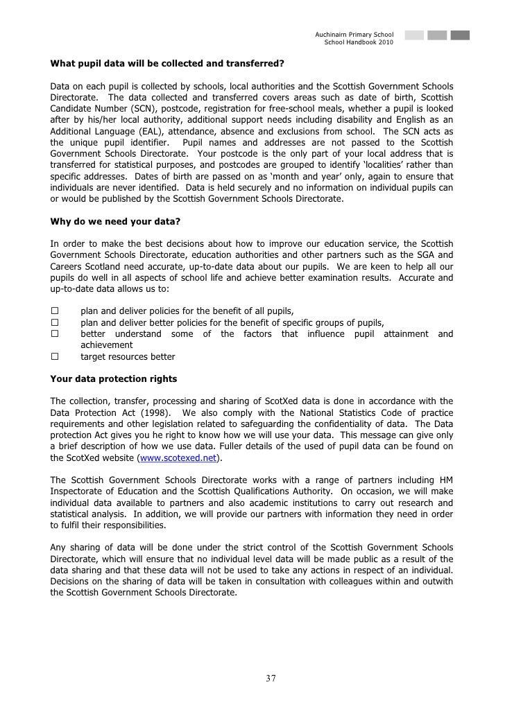 Auchinairn Handbook   2010
