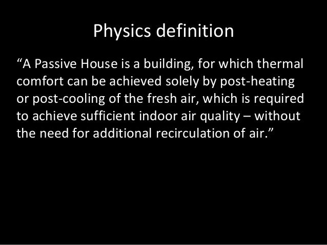 Is passivhaus a step too far south pacific passive house for Building a house for less than 50k