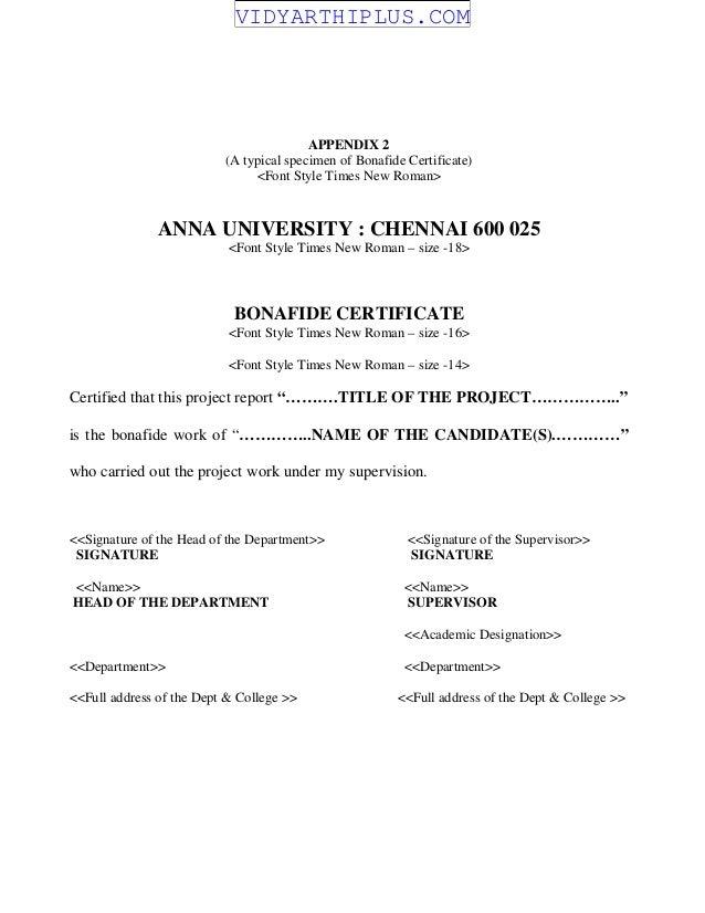 University report format 2 anna university chennai ug project anna university project report format r 2013 yadclub Gallery