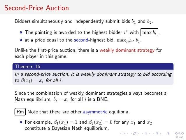24 40 25 Second Price Auction