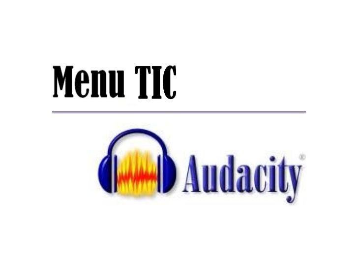 O que é?O          é um software gratuito, decódigo fonte aberto, para criação e ediçãode ficheiro de áudio.