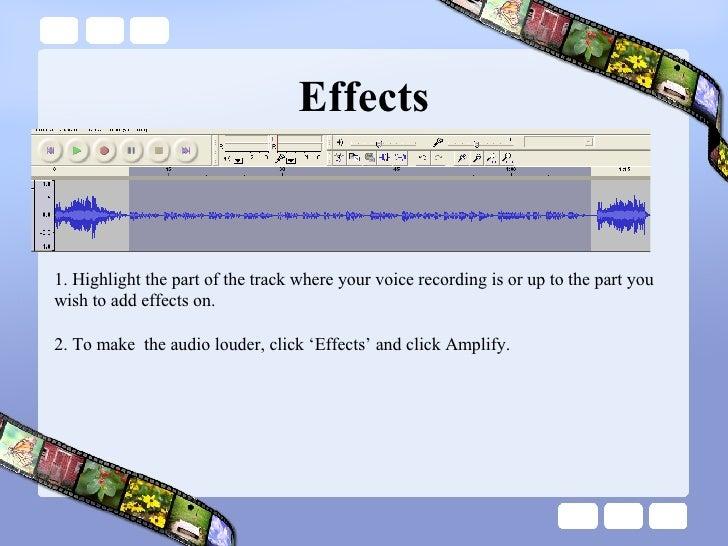 how to put voice memos on audacity