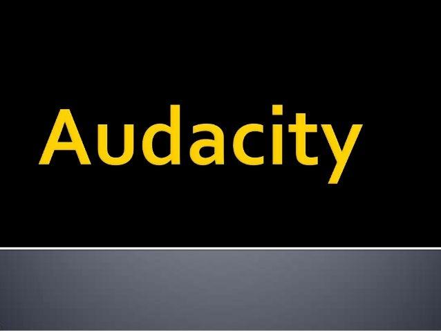   Esta es una lista de las funciones de Audacity, el editor de audio libre, de código abierto y multiplataforma. Para obt...