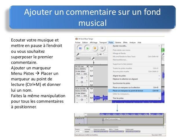 Audacity - Couper un fichier audio en ligne ...