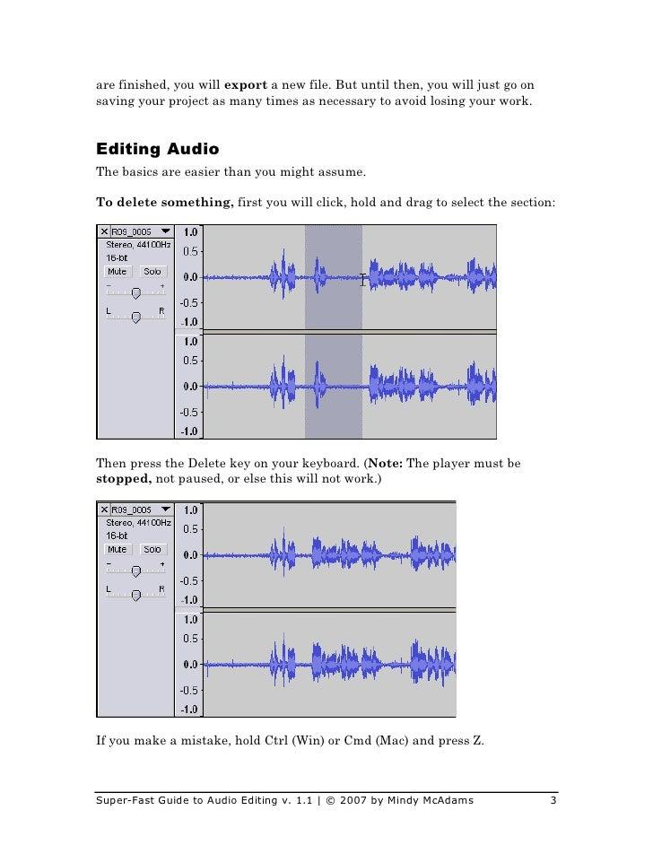how to make something quieter audio audacity