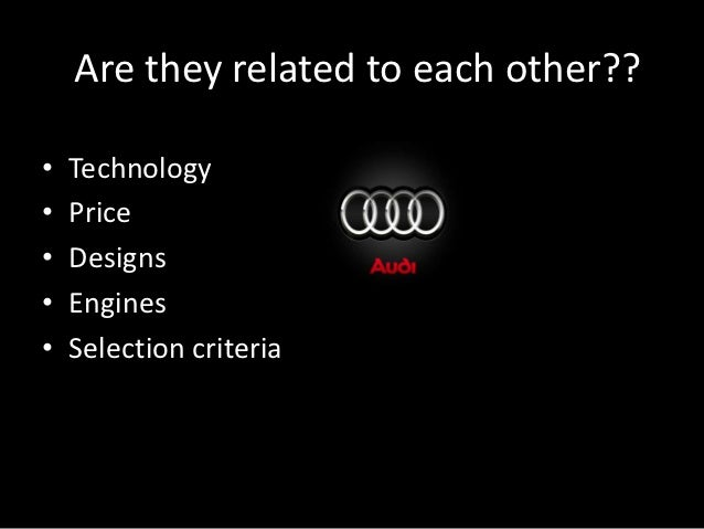 audi swot analysis Audi swot analysis & matrix provide insight into strategy,internal & external  factorsbuy custom audi swot analysis $11strengths,weakness opportunities.