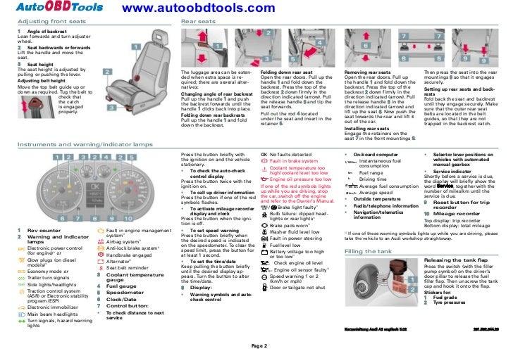 audi a2 guide free owners manual u2022 rh wordworksbysea com audi a4 service manual pdf audi a4 service manual download