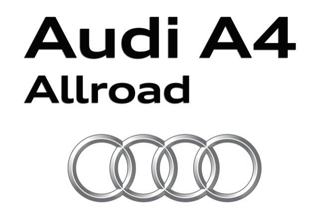Audi _0R33H_297x198_Cordoba_Flyer09_RZ_B.indd 1 04.11.15 11:44 A la vanguardia de la técnica A4allroad quattro Cordoba_Fly...