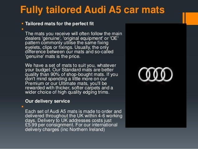 Audi A Car Mats - Audi 90 car mats