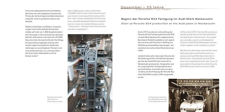 Dezember – 35 Jahre Schon die außergewöhnliche Architektur,         than 5,800 square metres. More than                   ...