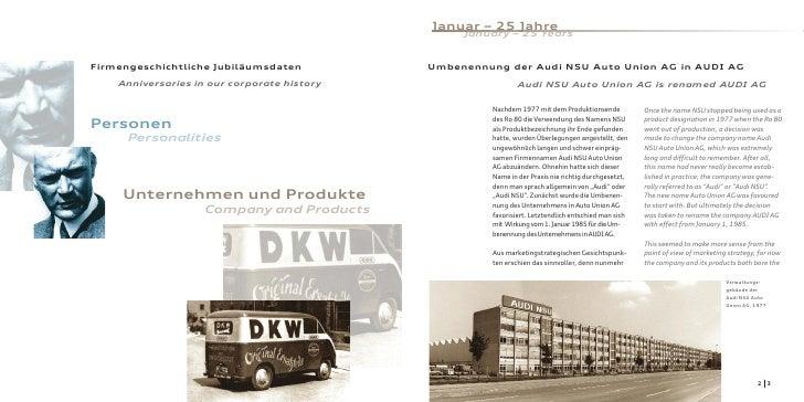 Januar – 25 Jahre                                                   January – 25 Years   Firmengeschichtliche Jubiläumsdat...