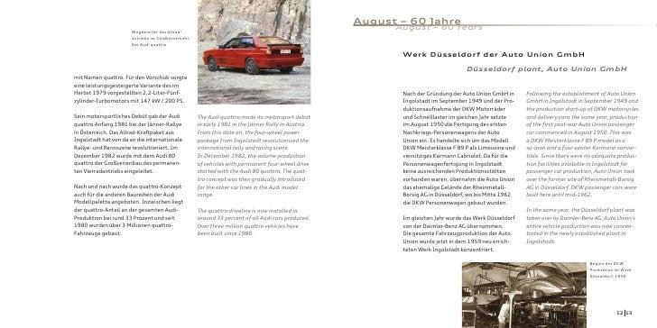 August – 60 Jahre                       Wegbereiter des Allrad-                                                           ...