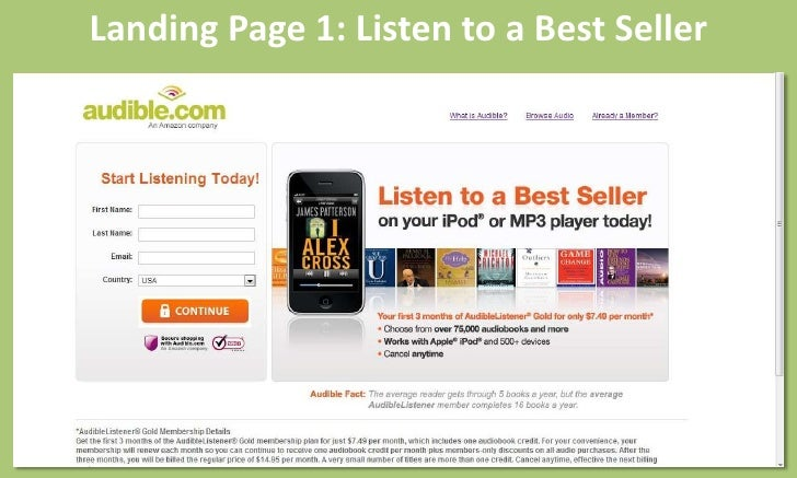 List of audible coupons