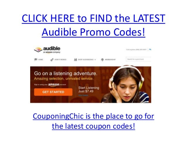 Free audible book promo code