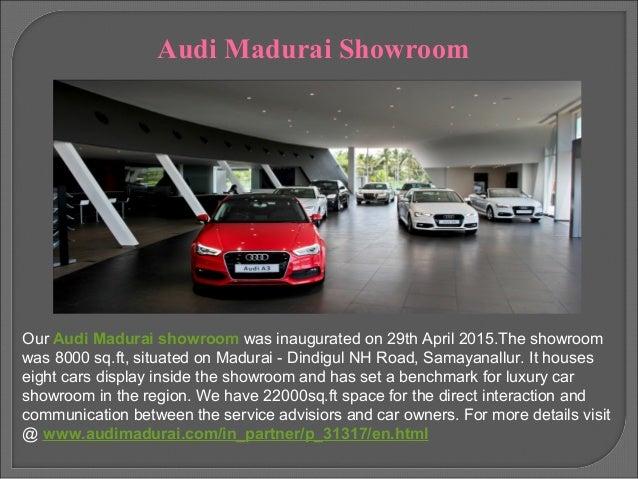Audi Car Dealers In Madurai - Audi car showroom