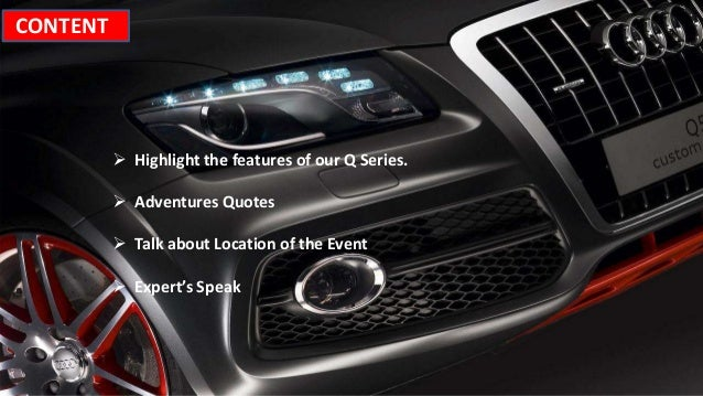 Social Media Campaign For Audi - Audi quotes