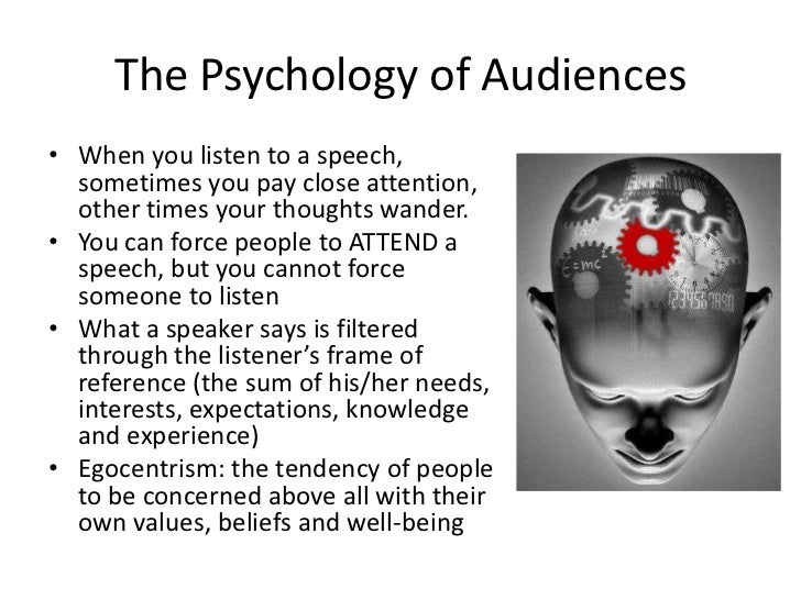 Audience-Centered Speaking