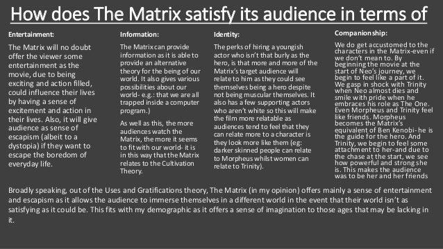 matrix movie analysis