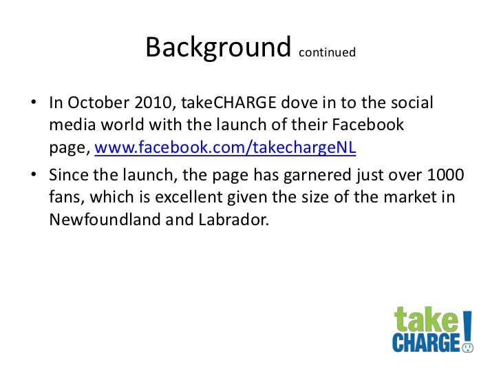 Audience Engagement Communication Plan For Take Charge