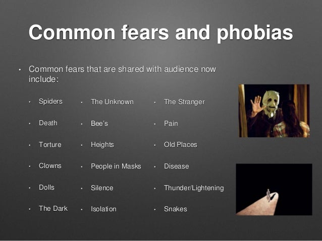 Image result for common fears and phobias