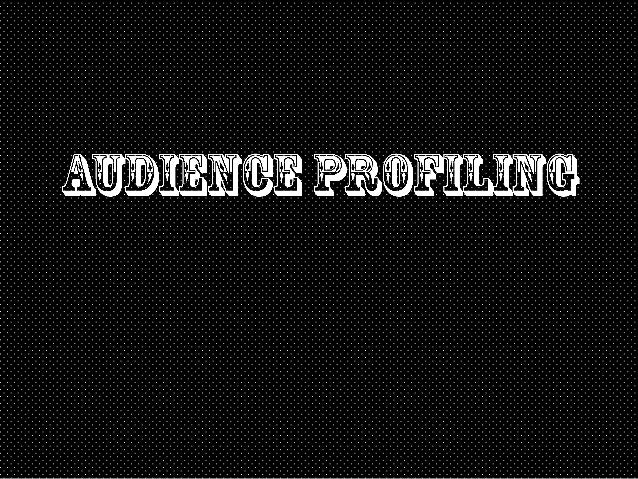 PRIMARY AUDIENCE                 DEMOGRAPHICS•    GENDER: FEMALE•   AGE: 16-25•   OCCUPATION: STUDENT•   ETHNICITY: WHITE ...