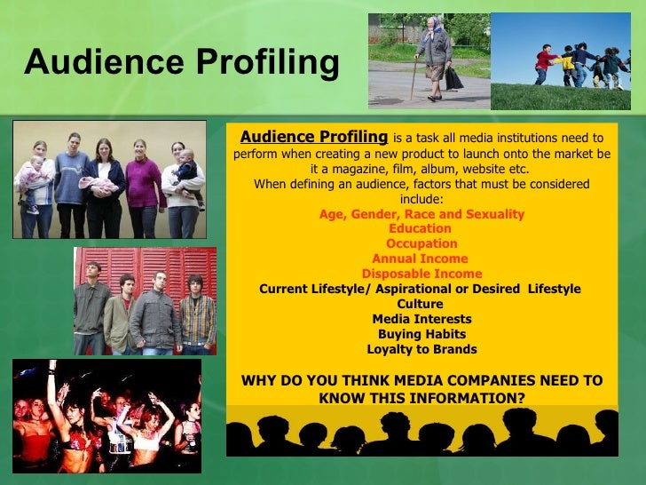 Audience Profiling Powerpoint