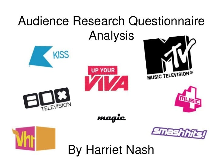 Audience Research Questionnaire Analysis <br />By Harriet Nash <br />