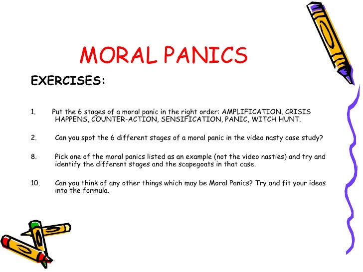 an introduction to the analysis of moral panic The production of squatters as folk devils: analysis of a moral panic that facilitated the criminalization of squatting in the netherlands.