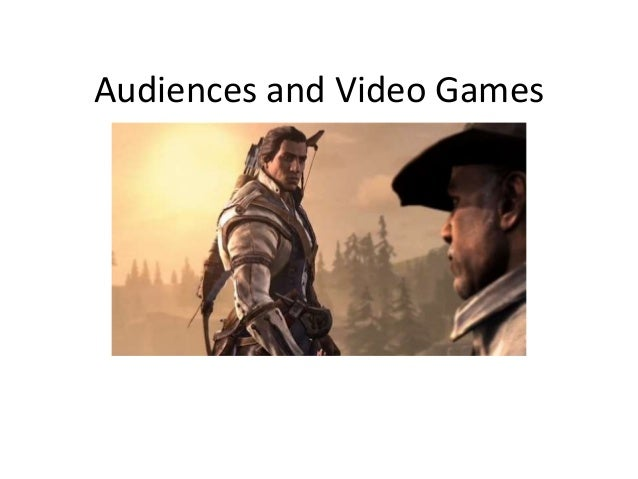 Audiences and Video Games
