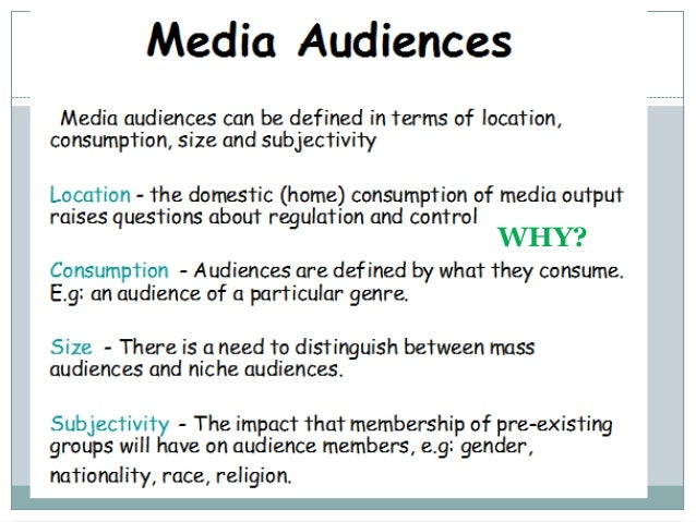 what is media audience