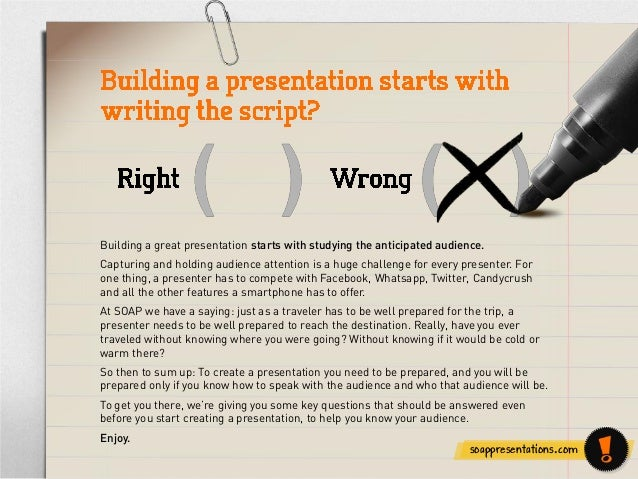 Tips on Building Audience Focused Presentations Slide 2