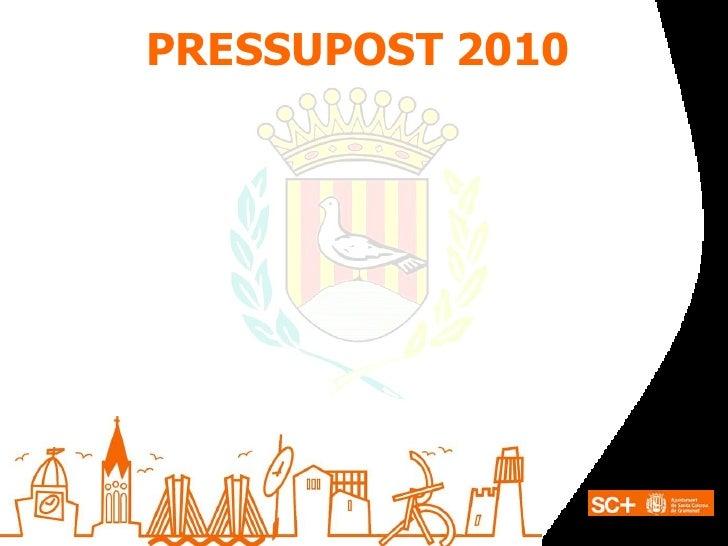 PRESSUPOST 2010
