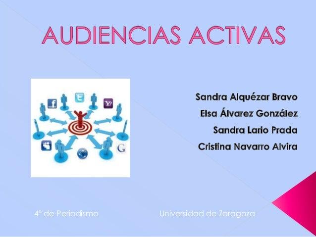 4º de Periodismo Universidad de Zaragoza