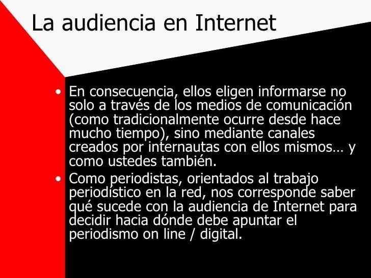 Audienciay Periodismo Digital Slide 3