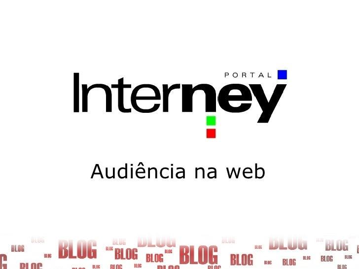 Audiência na web