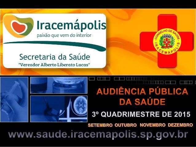 Secretaria de Saúde - Regulação Procedimento Setembro Outubro Novembro Dezembro Total Alergologista 1 6 9 0 16 Amb. Estrab...