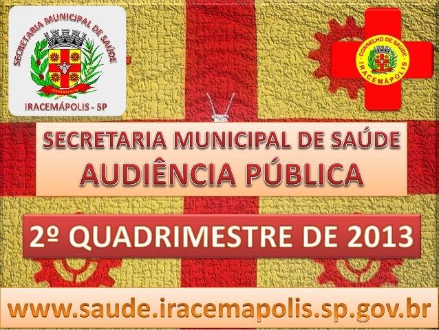 Secretaria de Saúde - Regulação Procedimento Maio Junho Julho Agosto Total Alergologia - 1 3 - 4 Audiometria 14 5 3 - 22 C...