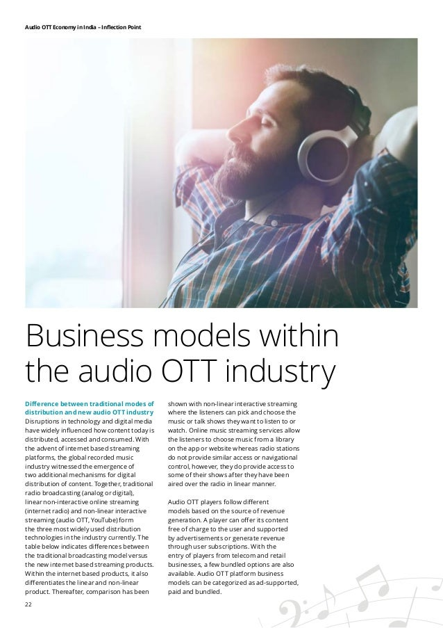 Audio OTT Economy in India at inflection point, says IMI-Deloitte rep…