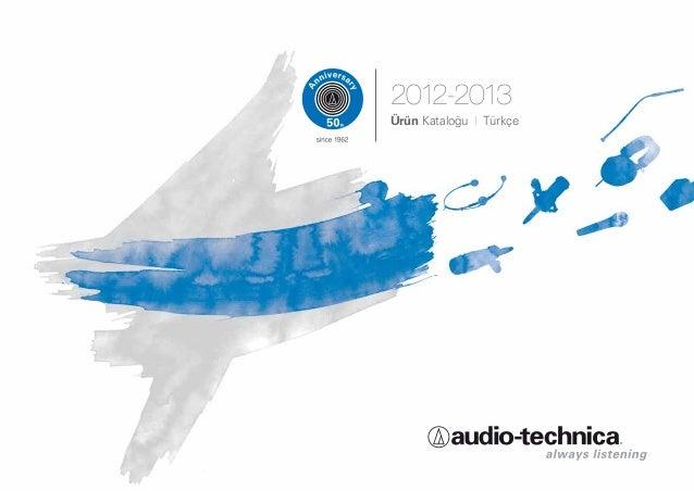 2012-2013Ürün Kataloğu I Türkçe