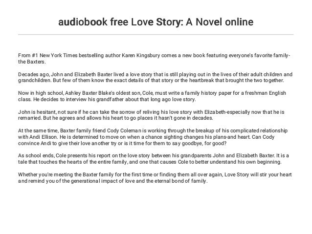 best love story novels in english